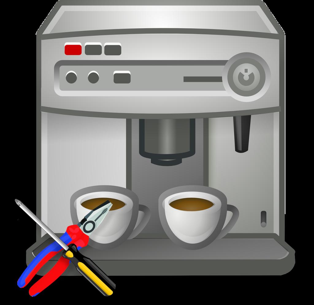 WMF Kaffeevollautomat Reparatur und Wartung